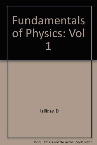 Fundamentals of Physics, , Chapters 23 to: David Halliday, Robert