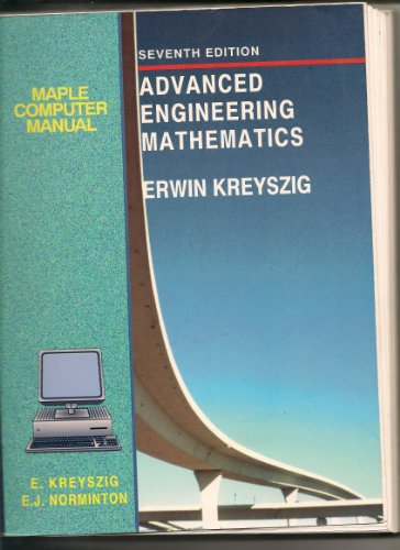 Maple Computer Manual for Advanced Engineering Mathematics