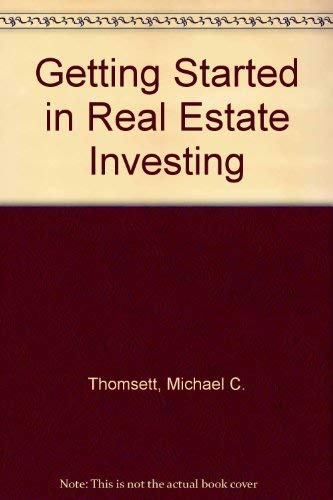 9780471311942: Getting Started in Real Estate Investing