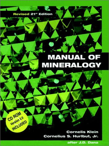 9780471312666: Manual of Mineralogy (after James D. Dana), 21st Edition, Revised