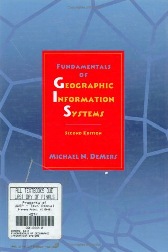 9780471314233: Fundamentals of Geographic Information Systems, 2nd Edition