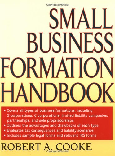 9780471314752: Small Business Formation Handbook