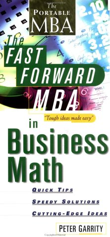 9780471315032: The Fast Forward MBA in Business Math