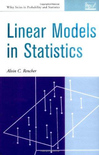 9780471315643: Linear Models in Statistics