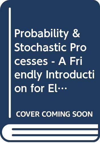 Probability & Stochastic Processes - A Friendly: Yates