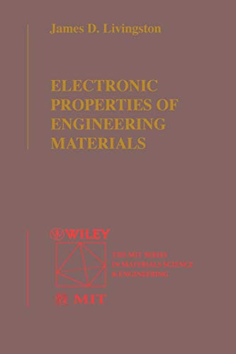 9780471316275: Electronic Properties of Engineering Materials