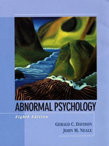 9780471318118: Abnormal Psychology