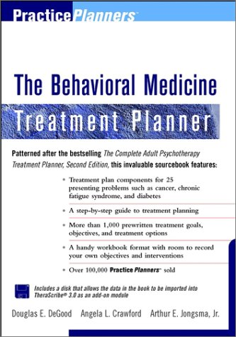 9780471319269: Behavioral Medicine Treatment Planner [With *] (PracticePlanners)