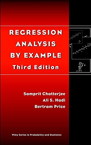 9780471319467: Regression Analysis by Example, 3rd Edition