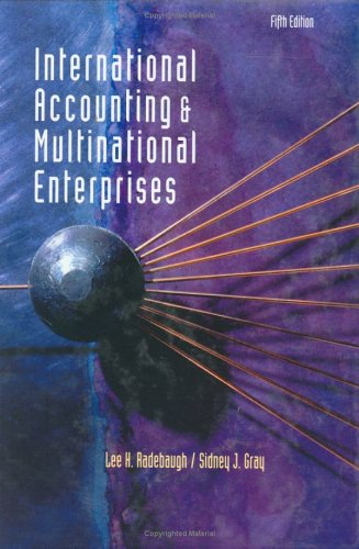 9780471319498: International Accounting and Multinational Enterprises, 5th Edition