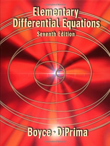 9780471319986: Elementary Differential Equations