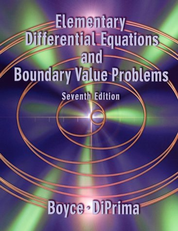 9780471319993: Elementary Differential Equations and Boundary Value Problems