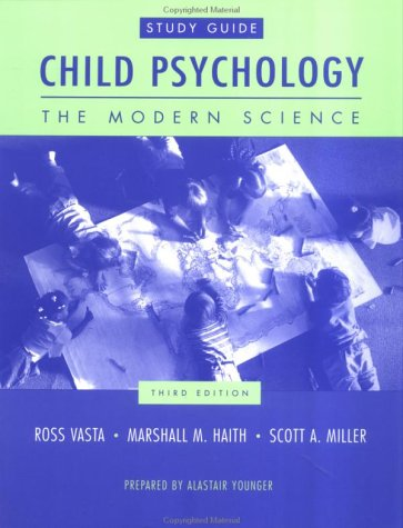 9780471321088: Child Psychology : The Modern Science (Study Guide)
