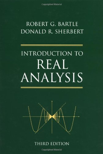 9780471321484: Introduction to Real Analysis