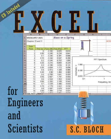 9780471321699: Excel for Engineers and Scientists