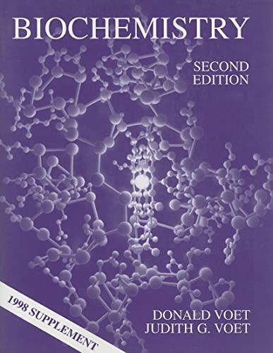 9780471322139: Biochemistry: 1998 Supplement