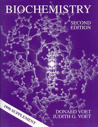 9780471322139: Biochemistry 1998 Supplement to Accompany Biochemistry Second Edition