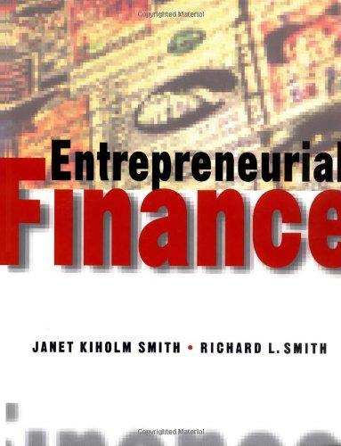 9780471322870: Entrepreneurial Finance