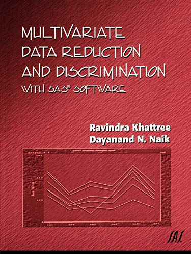 9780471323006: Multivariate Data Reduction and Discrimination with SAS Software