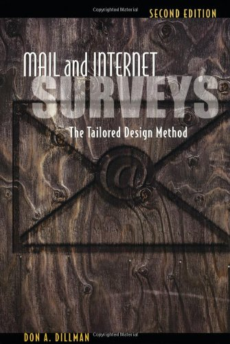 9780471323549: Mail and Internet Surveys: The Tailored Design Method