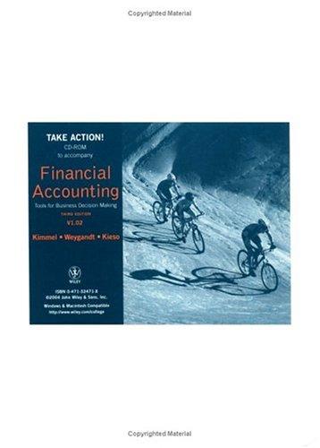Accounting Cycle Tutorial CD-ROM to accompany Financial: Kimmel, Paul D.;