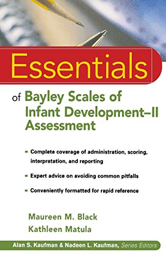 9780471326519: Essentials of Bayley Scales of Infant Development II Assessment