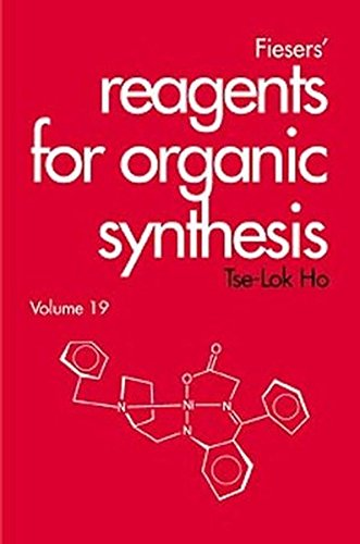 Fiesers' Reagents for Organic Synthesis: Tse-Lok Ho