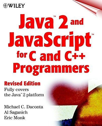 9780471327196: Java 2 and JavaScript for C and C++ (Programmers, Revised Edition)