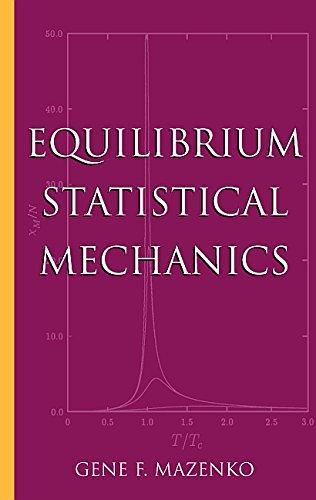 9780471328391: Equilibrium Statistical Mechanics