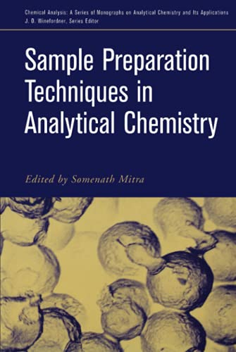 9780471328452: Sample Preparation Techniques in Analytical Chemistry