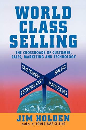 9780471328773: World Class Selling