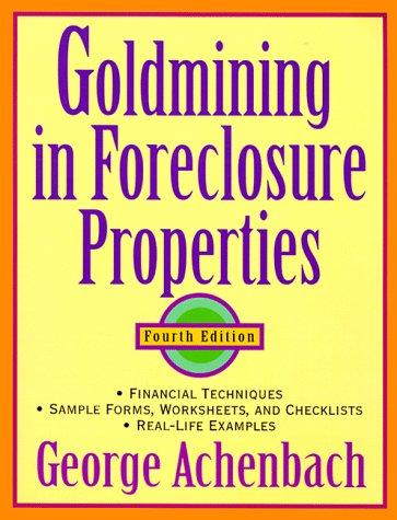 9780471329343: Goldmining in Foreclosure Properties