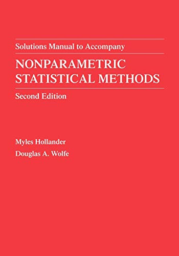 9780471329862: Nonparametric Statistical Methods, Solutions Manual