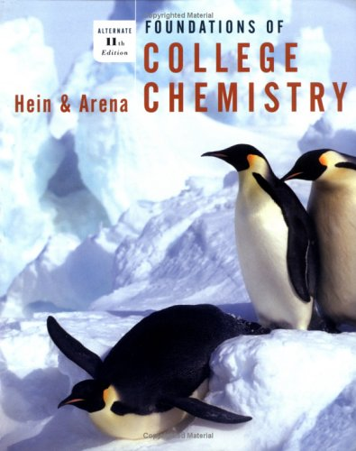 9780471330134: Foundations of College Chemistry