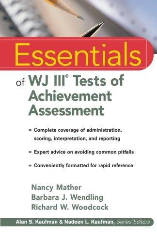 9780471330592: Essentials of WJ III Tests of Achievement Assessment