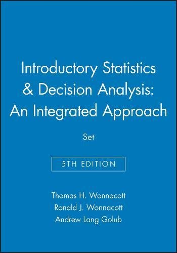 9780471331490: Introductory Statistics