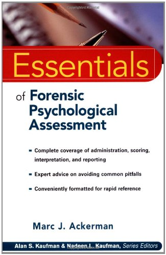 9780471331865: Essentials of Forensic Psychological Assessment (Essentials of Psychological Assessment)