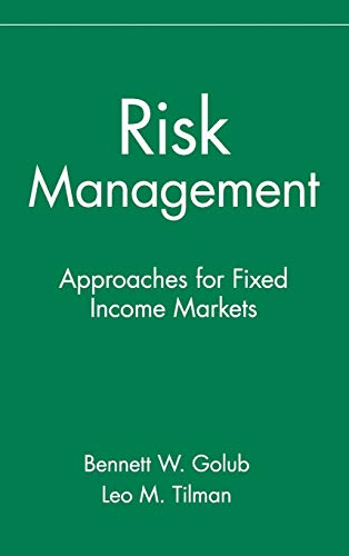 9780471332114: Risk Management: Approaches for Fixed Income Markets