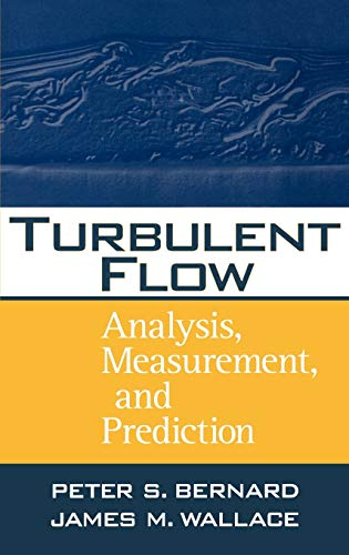 9780471332190: Turbulent Flow: Analysis, Measurement and Prediction