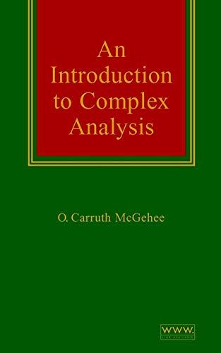 9780471332336: Complex Analysis