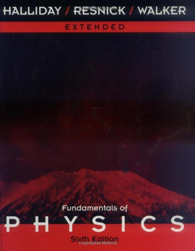 9780471332367: Extended , Fundamentals of Physics, 6th Edition