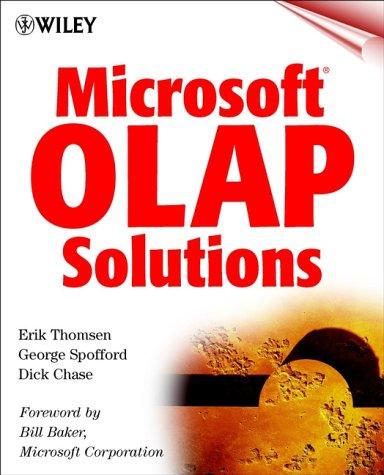 9780471332589: Microsoft? OLAP Solutions