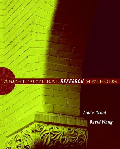 9780471333654: Architectural Research Methods