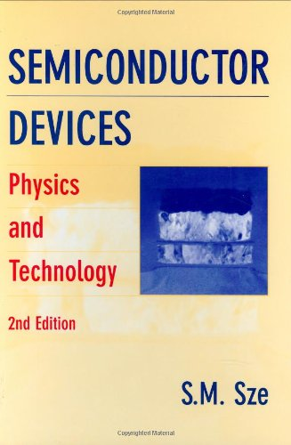 9780471333722: Semiconductor Devices: Physics and Technology, 2nd Edition
