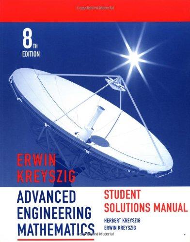 9780471333753: Advanced Engineering Mathematics, Student Solutions Manual