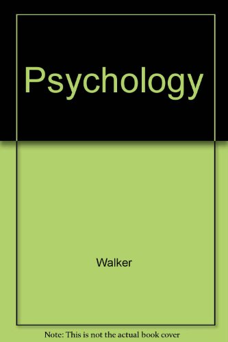 Psychology (9780471335146) by Michael Walker; etc.