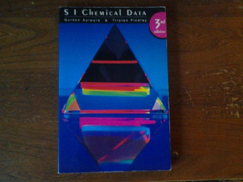 S I Chemical Data 3rd Edition