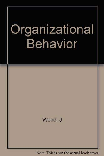 9780471337690: Organizational Behavior
