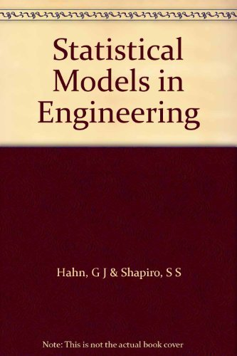 9780471339151: Statistical Models in Engineering (Wiley Series on Systems Engineering & Analysis)