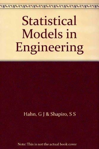9780471339151: Statistical Models in Engineering